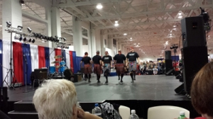 Large burly, hairy men prancing around in tartan skirts? Check