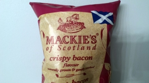 Sometimes, there just nothing like a packet of Scottish bacon-flavoured crisps to scratch that itch