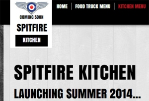 Spitfire Kitchen launches very soon ...