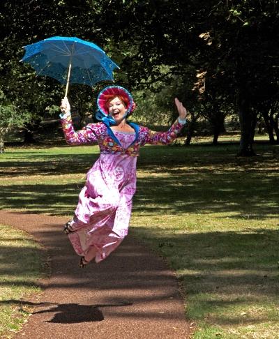 Penny Ashton jump