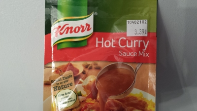 Totally Biased Product Review By Me Knorr Hot Curry Sauce