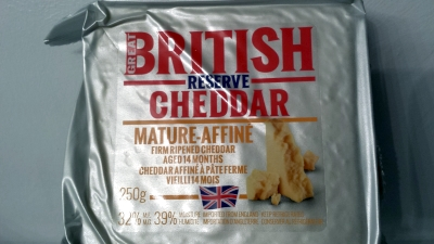 Great British Reserve Cheddar