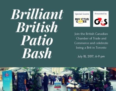 Brilliant British Patio Bash