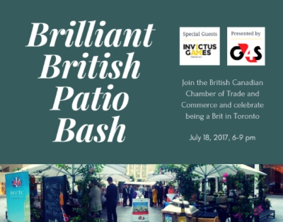 Brilliant British Patio Bash