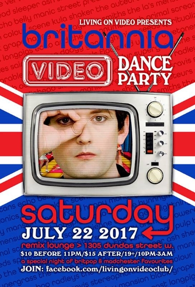 Britannia Video Dance Party