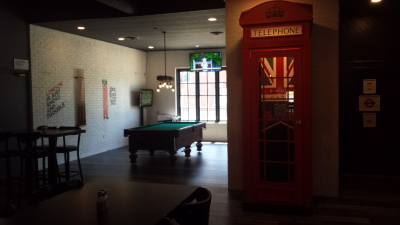 Telephone Box and Pool