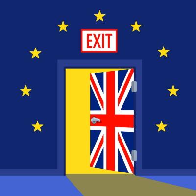 Brexit door
