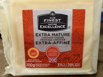 Walmart Our Finest Extra Mature Cheddar Cheese